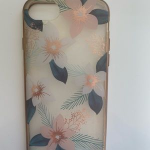 Floral print phone case